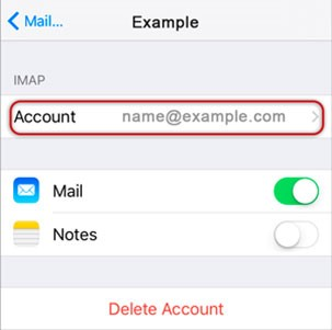 AOL IMAP and SMTP Settings16