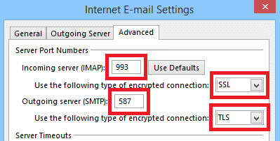 Hotmail Server Settings10